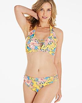 Simply Yours Floral Halterneck Bikini