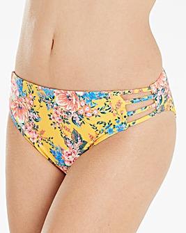 Floral Hipster Bikini Brief