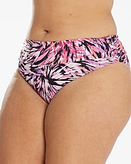 Magisculpt Pink Fold Over Bikini Brief