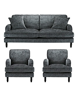 Imogen 3 Seater Sofa plus 2 Chairs
