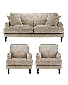 Imogen 3 Seater Sofa plus 2 Chairs