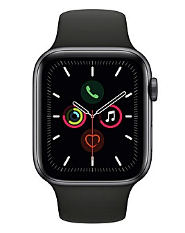 Apple Watch Series 5 44mm - GPS, Black Sport Band