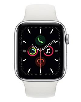 Apple Watch Series 5 44mm - GPS + Cellular, White Sport Band