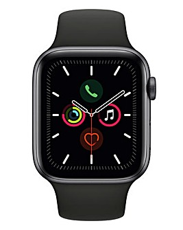 Apple Watch Series 5 44mm - GPS + Cellular, Black Sport Band