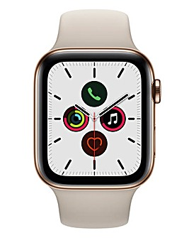 Apple Watch Series 5 44mm - GPS + Cellular, Stone Sport Band