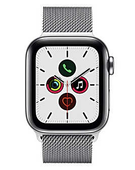 Apple Watch Series 5 40mm - GPS + Cellular, Stainless Steel Milanese Loop