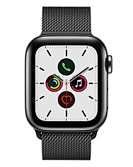 Apple Watch Series 5 40mm - GPS + Cellular, Space Black Milanese Loop