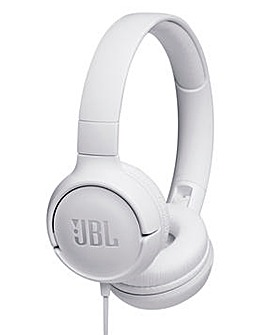 JBL Tune 500 Wired Headphones - One Button Universal Remote