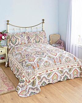 Floral Paisley Bedspread & Shams