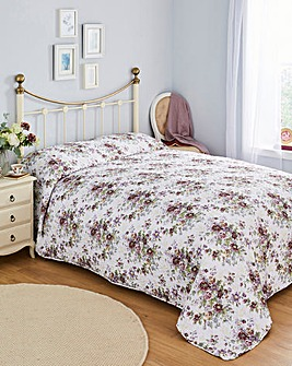 English Country Floral Bedspread