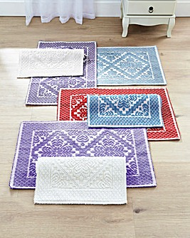 100% COTTON MACHINE WASHABLE RUG