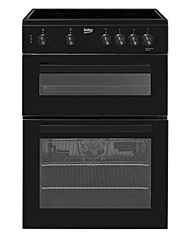 Beko KDC611K 60cm Double Oven + Install