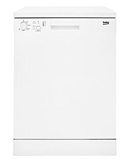 Beko DFN05310W 60cm Dishwasher