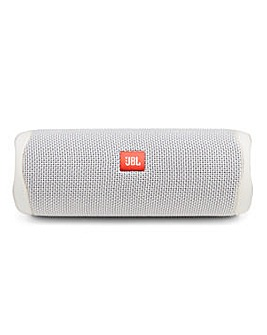 JBL Flip 5 Portable Bluetooth Speaker White