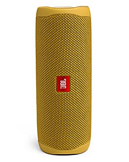 JBL Flip 5 Portable Bluetooth Speaker Yellow