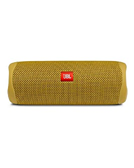 JBL Flip 5 Portable Bluetooth Speaker Yellow