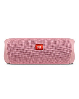 JBL Flip 5 Portable Bluetooth Speaker Pink