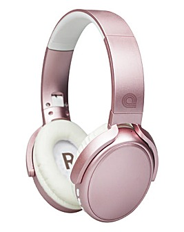 audial Bluetooth Headphones Rose Gold