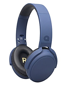 audial Bluetooth Headphones Navy