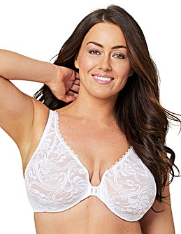 Glamorise 9245 Wonderwire Lace Front Close