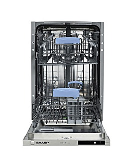 Sharp Slimline Dishwasher