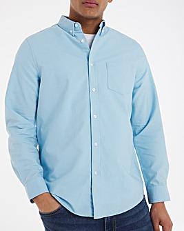 Long Sleeve Oxford Shirt Long