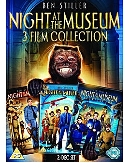 Night At The Museum 1 to 3