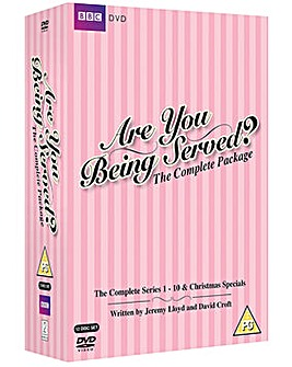 Are You Being Served Complete Box Set