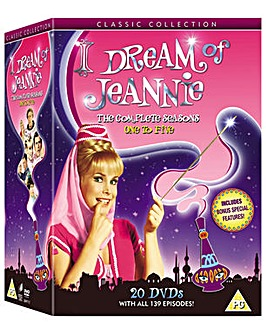 I Dream Of Jeannie The Complete Series