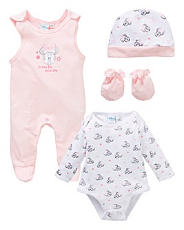 Minnie Mouse Dungaree Gift Set