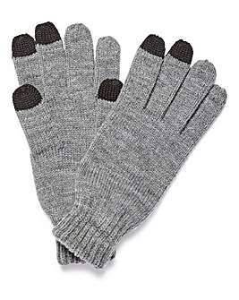Voi Charcoal Touchscreen Gloves