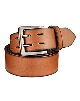 Williams & Brown Leather Punch Belt
