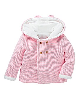 KD Baby Girl Fleece Lined Cardigan