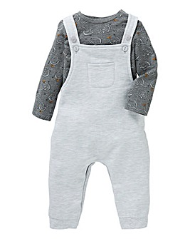 Baby Boy Dungaree Set