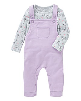 Baby Girl Dungaree Set