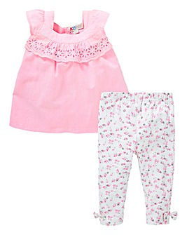 Baby Girl Blouse and Legging