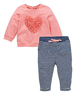 KD Baby Girl Top & Jogger Set