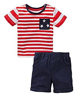 KD Baby Boy T-Shirt and Short Set