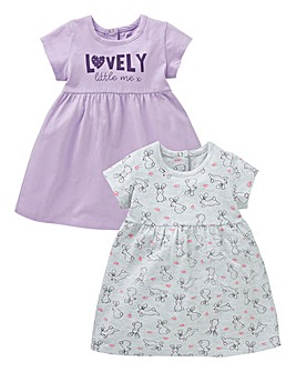 Baby Girl Pack of Two Dresses