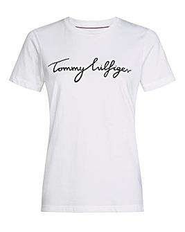Tommy Hilfiger Heritage White T-Shirt