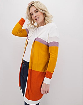 Junarose Colour Block Cardigan
