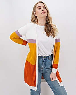Junarose Colour Block Cardigan
