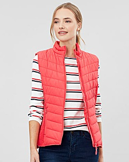 Joules Padded Gilet With Funnel Neck