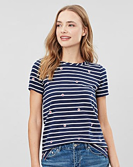 Joules Carley Print Classic Crew T-Shirt