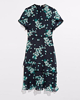 Oasis Curve Dandelion Print Dress
