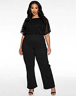 Quiz Polka Dot Jumpsuit