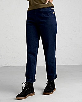 Seasalt Waterdance Washed Denim Trouser