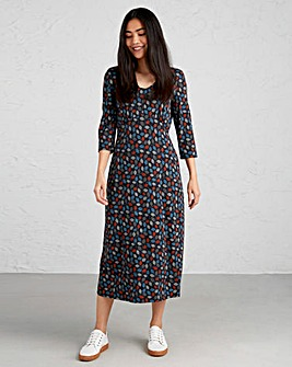 Seasalt Bamboo Jersey Midi Dress
