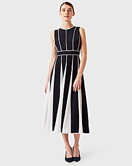 Hobbs Pannelled Sleeveless Dress