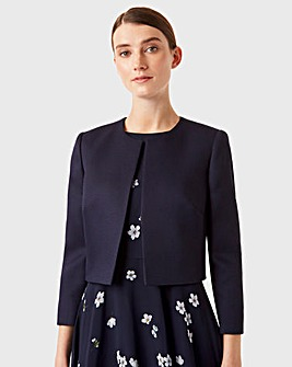 Hobbs Cropped Smart Jacket